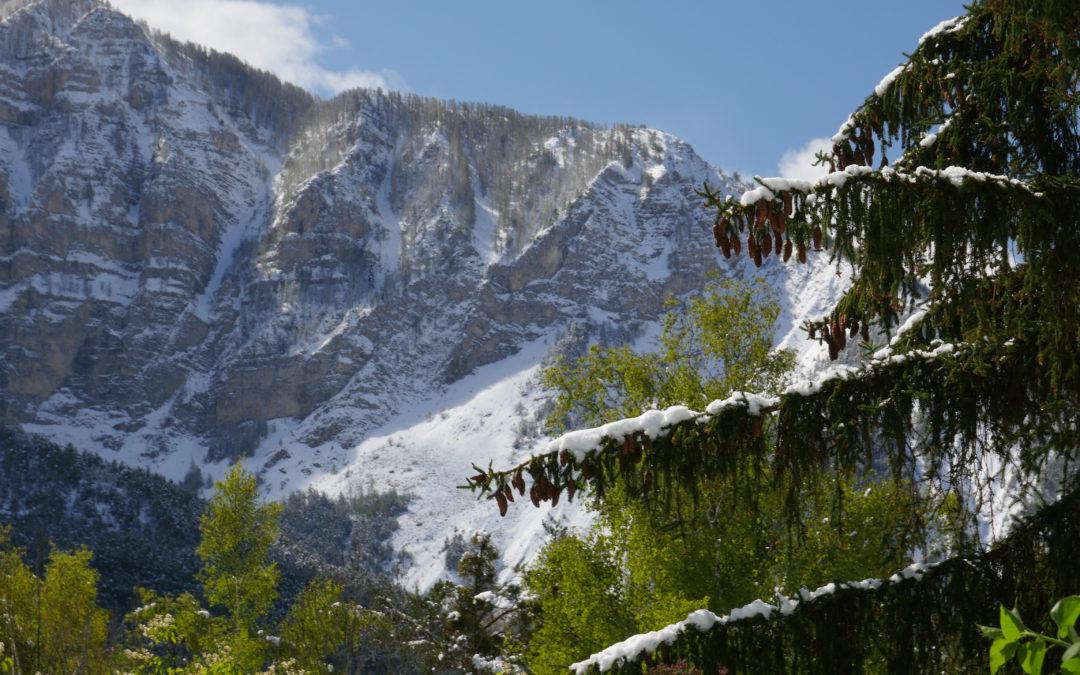 En hiver, on skie dans le Verdon!