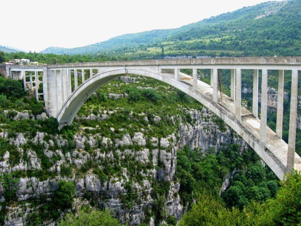 Nuevo en VERDON XP !! Salto de puenting en el puente de Artuby, 182 m
