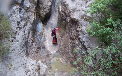Canyoning dans le ravin de vénascle
