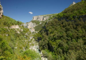 In the Verdon, climate changes between 2017 and 2018?