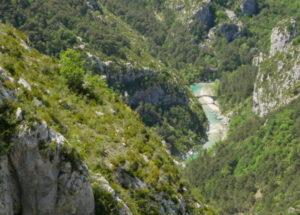 Jours de Rafting et niveaux d'eau sur le Verdon