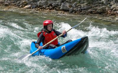Canoe-Kayak, Canoe-raft dans les gorges du verdon