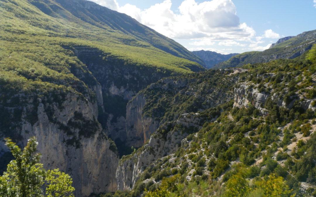 The Route des Cretes, Verdon Gorges