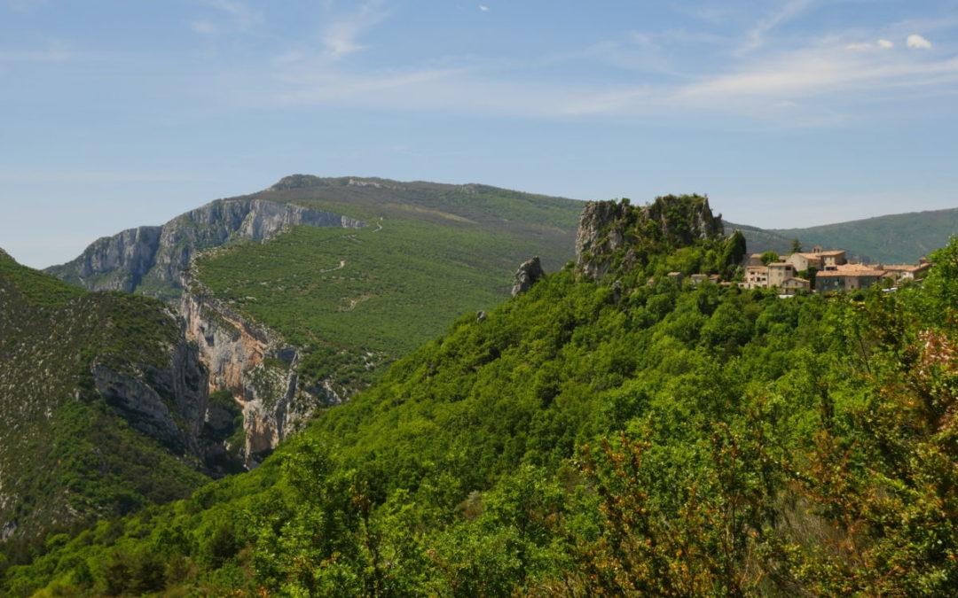 Le village de Rougon et Isidore Blanc