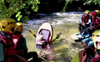 Rafting in the Aude Gorges, Pyrénées Orientales