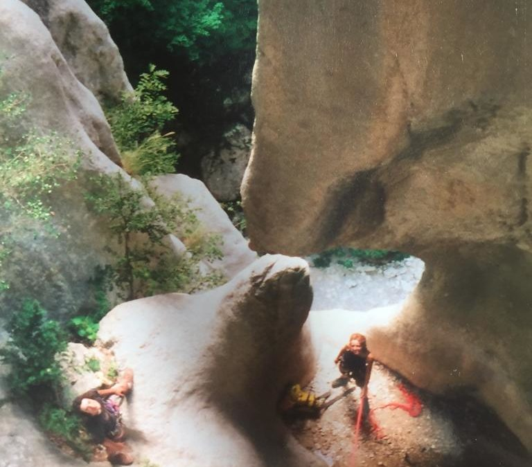 Canyoning Verdon Gorges, the Mainmorte ravine