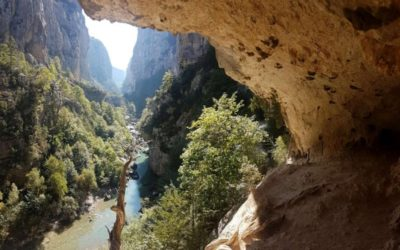 Hiking the Imbut trail, the magic of Verdon