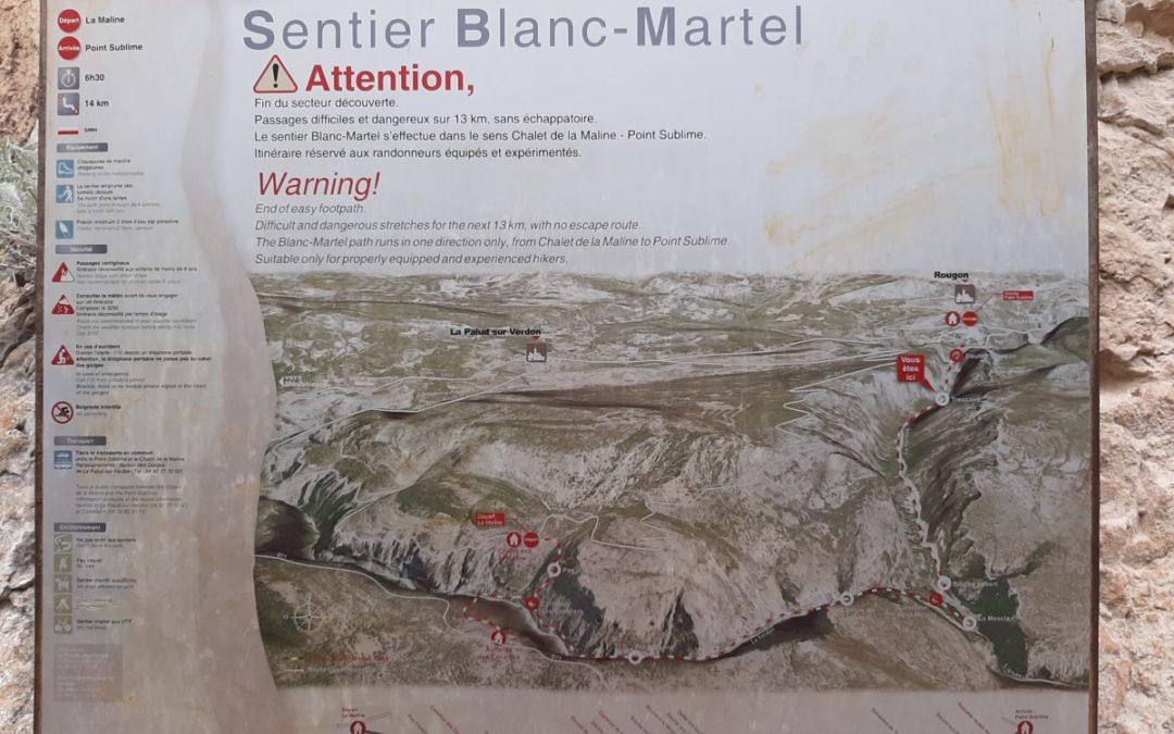 Sentier Blanc-Martel, la randonnée familiale du Verdon