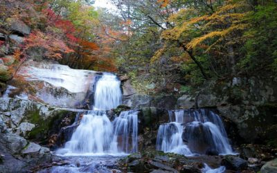 Canyoning in south Korea, Canoeing and Hiking