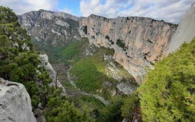 Rancoumas belvedere, Verdon Gorges Hike