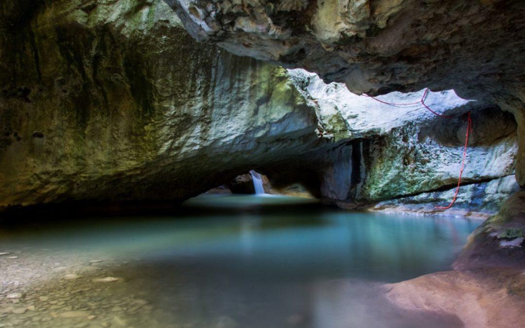 Le canyon du Haut-Jabron, canyoning initiation