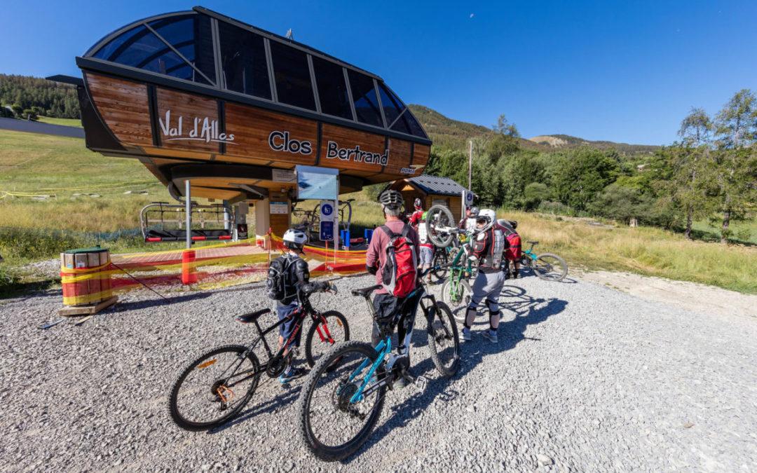 Bike Park et Pump Track au Val d'Allos