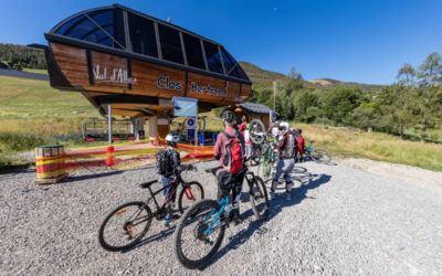 Bike Park and Pump Track in Val d'Allos