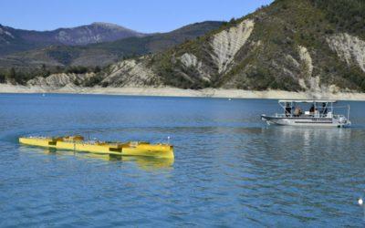 Lac de Castillon, test base for the DGA