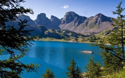 Allos lake, the largest mountain lake in Europe